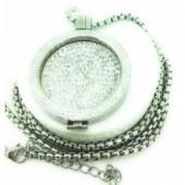 Silver Cz Coin Set