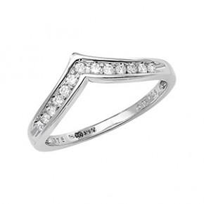 Ladies Wishbone Ring