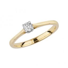 Diamond 4 Claw Solitaire