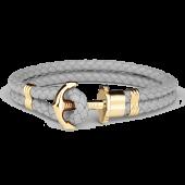Anchor Bracelet PHREP IP Gold Grey