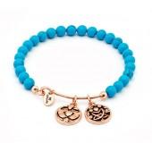 Friendship Turquoise Expanable Bracelet