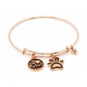 I Love My Dog Expandable Bracelet