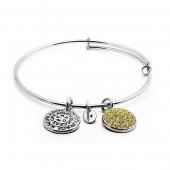 Citrine Crystal Expandable Bracelet