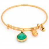 Emerald Jade May Expandable Bangle GP