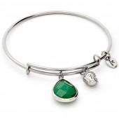 Emerald Jade May Expandable Bangle