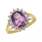 Diamond & Amethyst