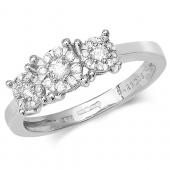 Diamond Brilliant Range 3 Stone