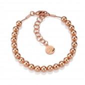 Rose Gold Small Bead Bracelet