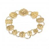 Sappho Mixed Coin Bracelet