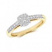 DIAMOND BRILLIANT ILLUSION SOLITAIRE